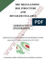 Aeronautical Engg Syllabus