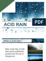 Sci Ed 226- Acid Rain