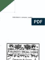 Childrens Singing Games - 1