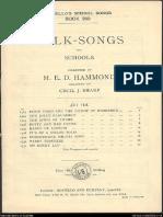 Folk Songs for Schools - Set 8