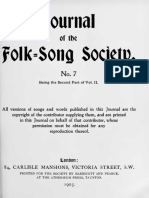 Journal of the Folk Song Society No.7