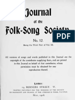 Journal of the Folk Song Society No.12