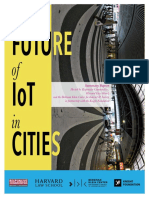 The Future of IoT in cities
