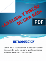 Analisis y Diseño de Una Red»