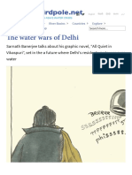 Banerjee- Interview on the Water Wars of Delhi _ the Third Pole