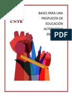 BASES PARA UNA PROPUESTA DE EDUCACIÓN ALTERNATIVA EN  MÉXICO