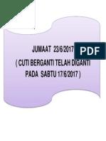 JUMAAT  23