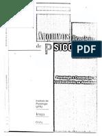 Arquivos Brasileiros Da Psicologia Especial Teoria AtorRede
