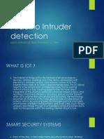 Arduino Intruder Detection