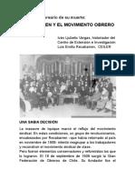 Recabarren y El Movimiento Obrero Chileno