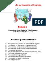 Forme Su Negocio 2015
