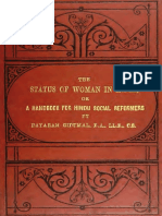 The Status of Women in India Dayaram Gidumal