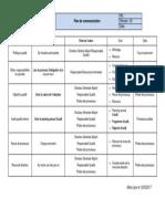 Plan de Communication ISO 9001V2015