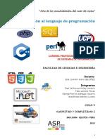Monografia - Fundamentos de Programacion