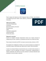 Cálculo de Retención de ISLR en Venezuela