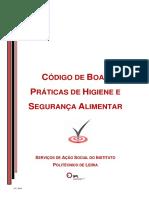 Código Boas Praticas 2014 IPLeiria