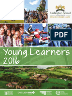 Burlington School Young Learners Brochure and Price List 2016 High Resolution