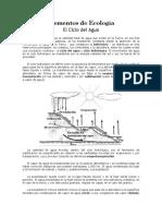 Elementos de Ecología_CICLO DEL AGUA
