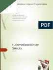 Automatizaciones en la antigua  Grecia