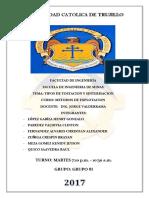 Informe Camaras y Pilares