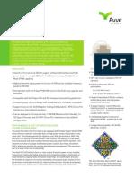 Aviat ODU 600 ANSI Short Datasheet - July 2016