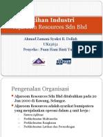 Presentation Latihan Industri