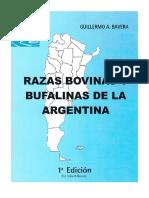 Razas Bovinas y Bufalinas