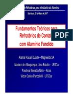 01 - Fundamentos Teóricos Para Refratários de Contato Com Alumínio Fundido