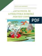 Fantasticul in Literatura Romana Pentru Copii