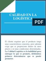Calidad en la logística