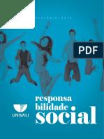 Balanço Social Univali - 2016