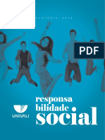 Balanço Social Univali - 2017