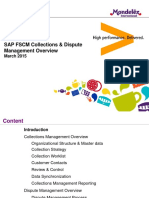 SAP FSCM Collections Dispute Mgt Overview_v3 03112015