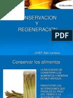 Conservacion y Regeneracion de los alimentos