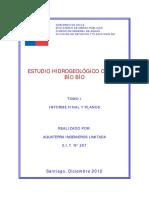 Estudio Hidrogeológico Cuenca Biobío 2012