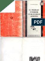 El Trabajo Interior, (Za Zen), Ignacio Acosta