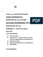 AUTOCAD INICIAL MATERIALES