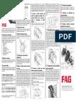 INSTRUCCIONES de MONTAJE Para Rodamiento Partido de Rodillos Esféricos FAG