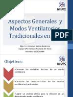 Aspectos Generales y Modos Ventilatorios - MIUPC