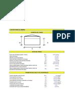 Diseño Preliminar de Fundación Del Tanque