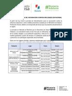 04-07-2017 HOY INICIA JORNADA DE VACUNACIÓN CONTRA INFLUENZA ESTACIONAL.