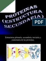 Diapo de Proteinas Secundarias Final