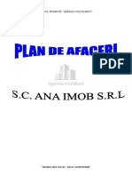 Plan de Afacere Sc Ana Imob