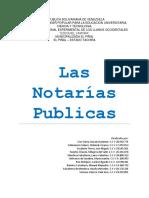 TRABAJO Notarial y Registral Con Conclucion Eh Introduccion
