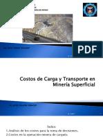 Costos de Carga y Transporte en Mineria Superficial