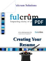Resume Writing - FS