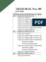 Pliego Tarifario Seal