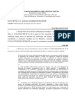 Nota Técnica 66 - 2012