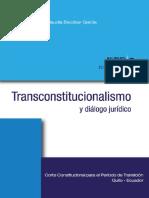Transconstitucionalismo y Dialogo Juridico 1