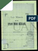 Ley Minera 1892